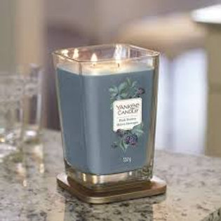 Yankee Candle Large Two Wick Square Dark Berries
