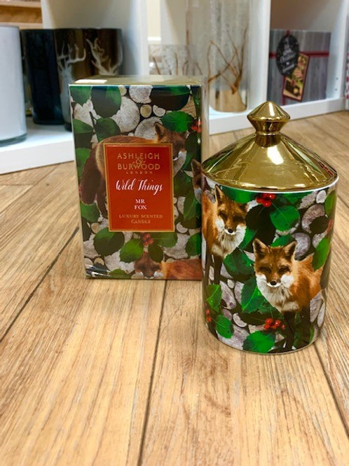 Ashleigh and Burwood Wild Things Mr Fox Candle