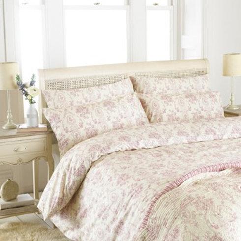 Paoletti Etoille Blush Pink Duvet Set - King