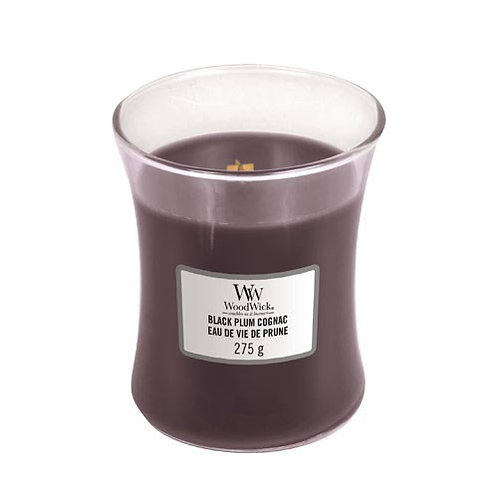 Black Plum & Cognac - Medium Hour Glass Candle