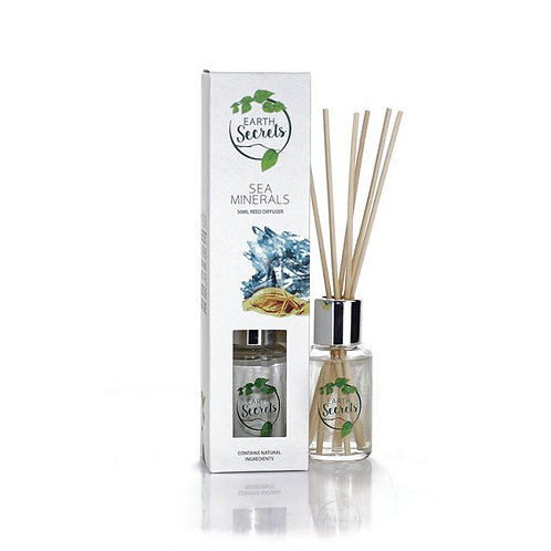 Earth Secrets: Reed Diffuser - Sea Minerals 50ml