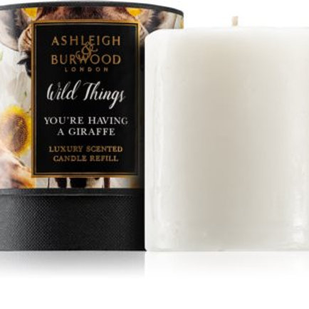 Ashleigh and Burwood Wild Things - You're Having a Giraffe Candle Refill