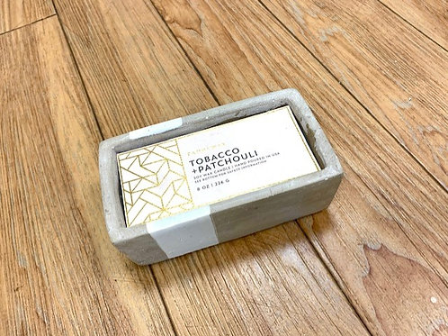 Paddywax Urban Driftwood  Tobacco and Patchouli Candle