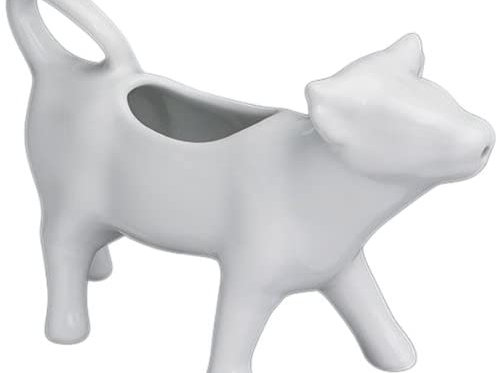 Kitchencraft White Ceramic Cow Milk Jug