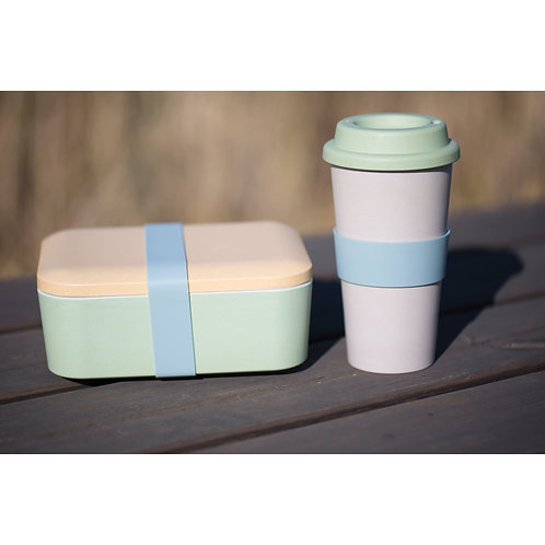 KitchenCraft Natural Elements Eco-Friendly Lunchbox