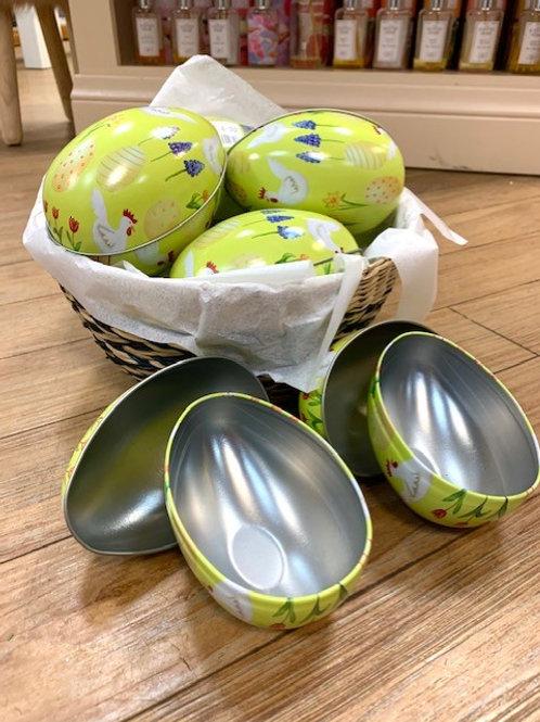 Gisela Graham Metal Easter Egg Gift Presentation Egg