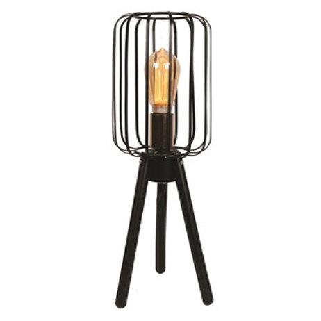 Black Tripod Table Lamp