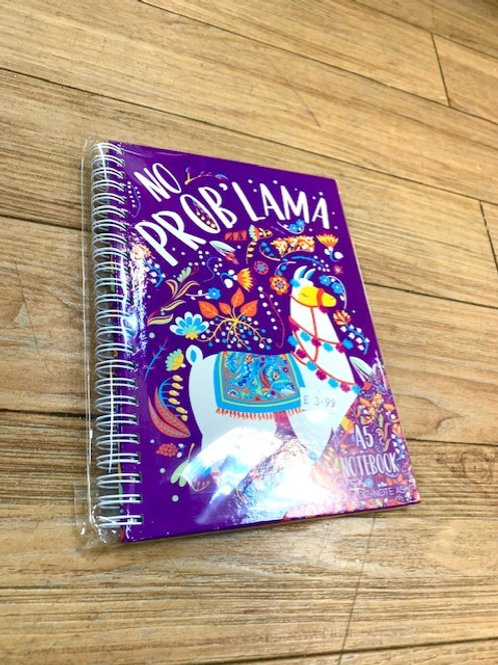 No Problama Lama A5 Notebook