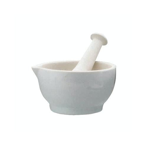 Kitchencraft Home Made Ceramic 10cm Mortar and Pestle