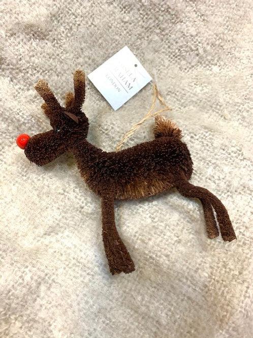 Gisela Graham Bristle Standing Rudolph