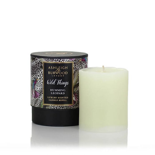 WILD THINGS: CANDLE REFILL - HUMMING LEOPARD