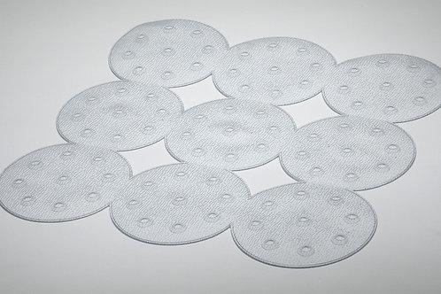 Dotty Shower Mat - Clear