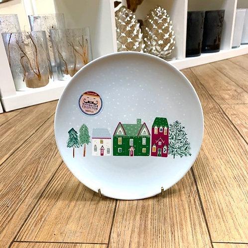 Kitchencraft Nutcracker Village Canape Side Plate