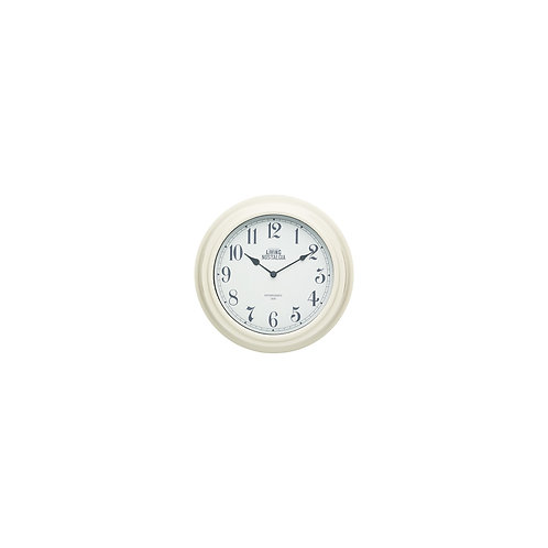 Living Nostalgia Analogue Wall clock - Antique Cream