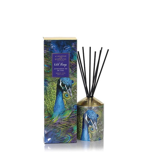 Wild Things Reed Diffuser - Attention to De-Tail - Peacock
