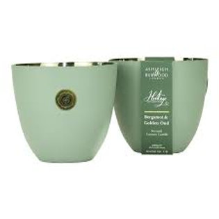 THE HERITAGE COLLECTION: LUXURY SCENTED CANDLE - BERGAMOT & GOLDEN OUD 250G