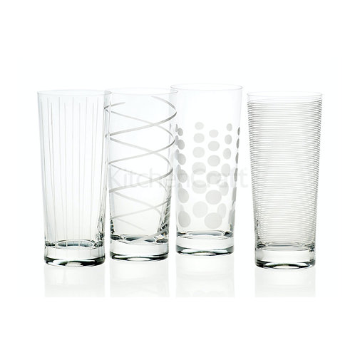Mikasa Cheers High Ball Glass - Spots