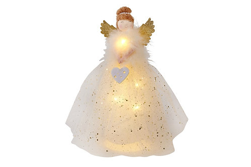 Beautiful Lit Fairy Tree Topper