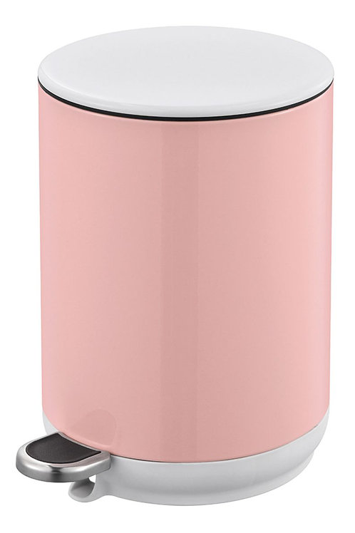 Natura Pedal Bin Soft Close 5L - Pink