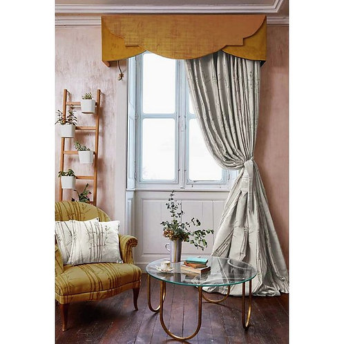 """The Chateau by Angel Strawbridge Bamboo Curtains - Natural 66""""x54"""" (168x137cm)"""