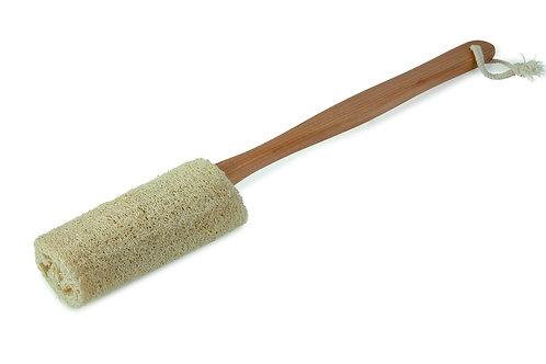 Wooden Handle Loofah