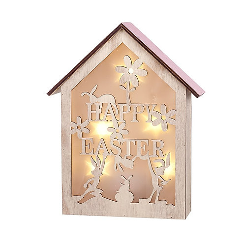 Heaven Sends Light Up Wood Easter Box with Easter Message