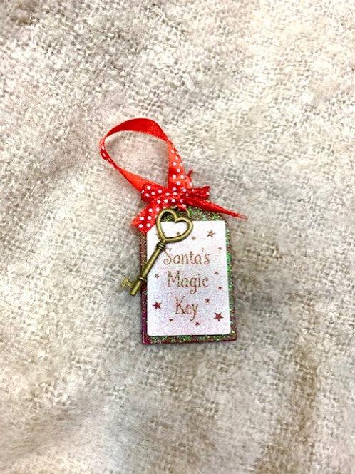 Santa's Magic Key Hanging Decoration
