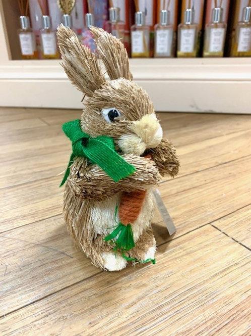 Gisela Graham Easter Spring Bunny Rabbit Brush Medium 18cm