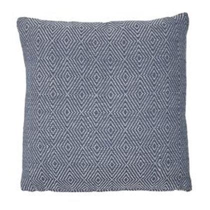 Weaver Green Lightweight Cobalt Square Cushion 45cm x 45cm