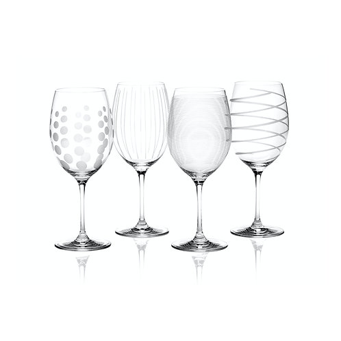 Mikasa Cheers Wine Glass - Spiral