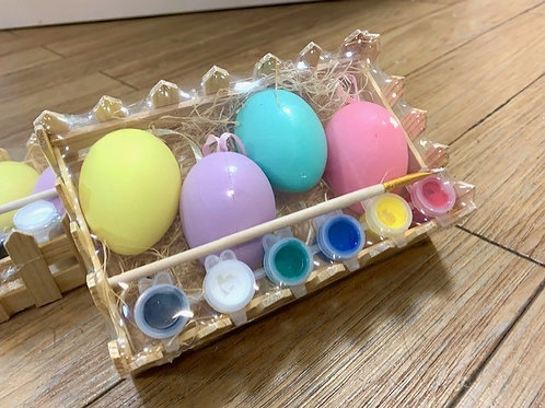 Gisela Graham Paint Your Own Egg Kit Pack of Four