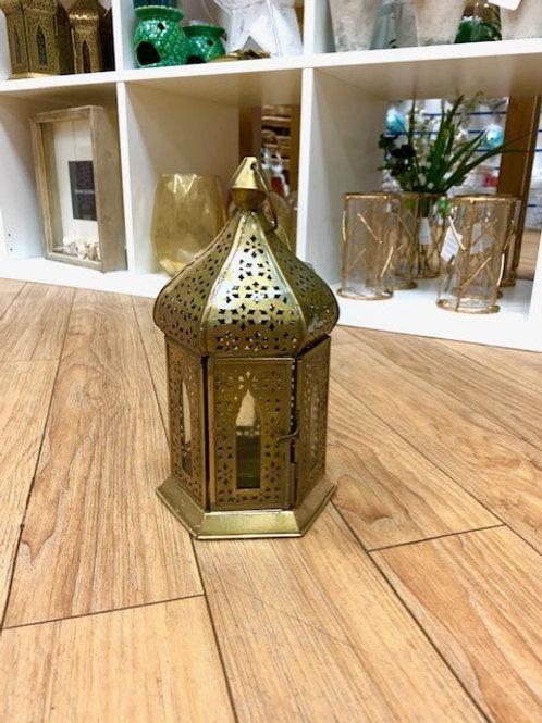 Straits Moroccan Brass Lantern 23cm