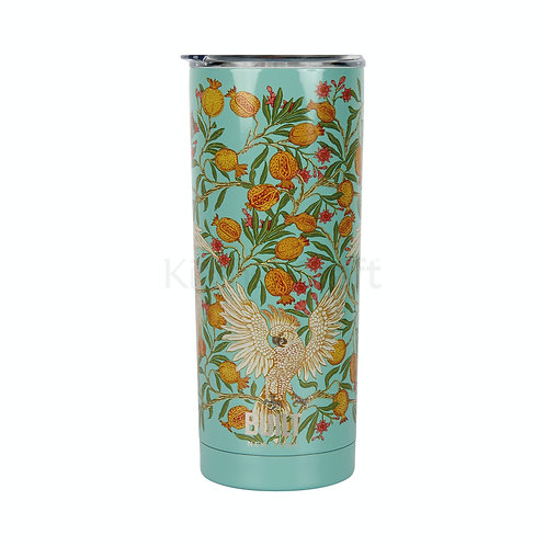 Built V&A Double Walled Stainless Steel Travel Mug - Cockatoo - 590ml