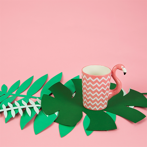 Sass & Belle Ziggy Flamingo Mug