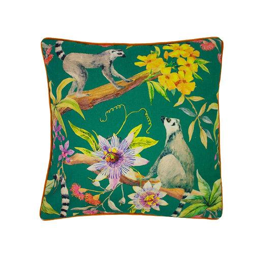 Lemur Printed 50x50cm Cushion