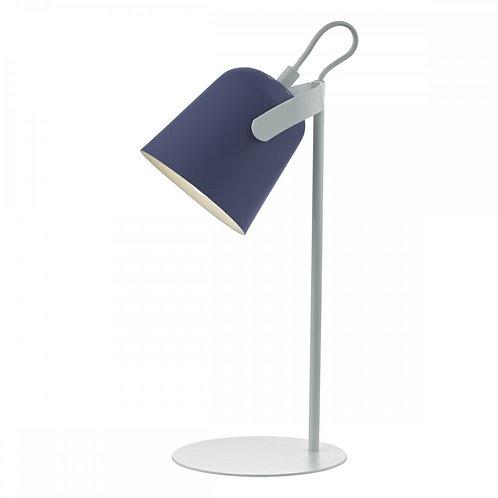 DAR Lighting Effie Blue and White Table Lamp