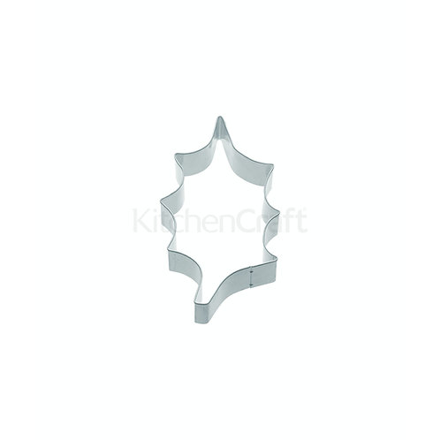 KitchenCraft Large Holly Leaf Cookie Cutter