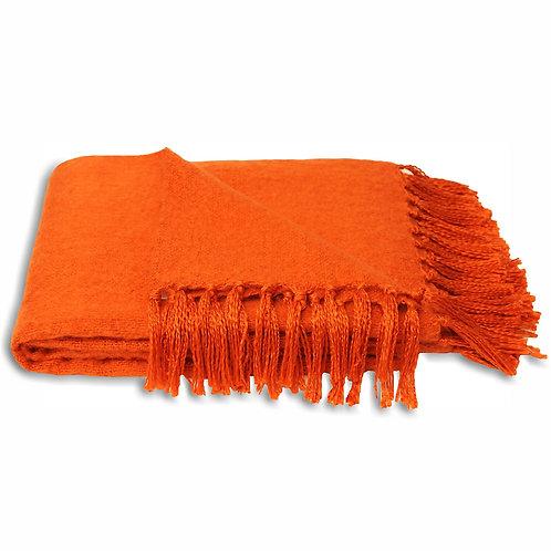 Riva Home Chiltern Throw Burnt Orange 127x180cm
