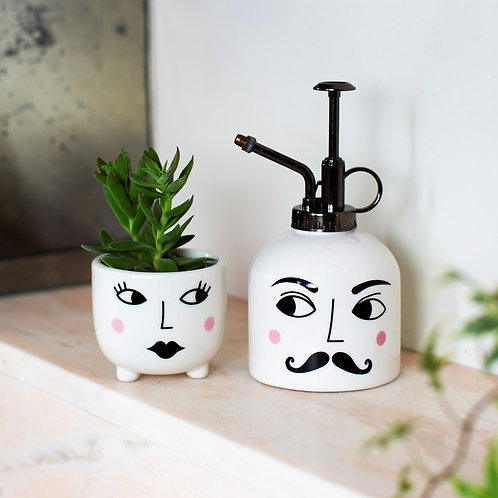 Sass & Belle Mister & Mrs Plant Set