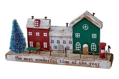 Christmas Village House Block