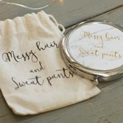 Ava & I Compact Mirror in Gift Pouch