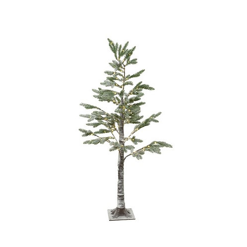 Micro LED Pine Tree with Snowy Branches