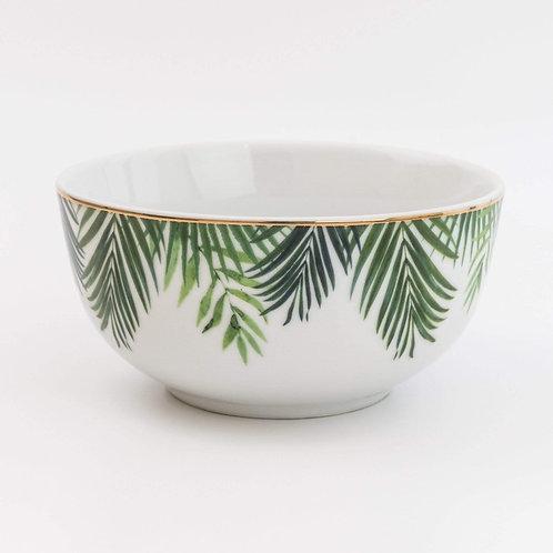 Rice Bowl in Emerald Eden Design
