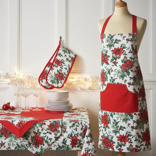 Poinsettia Trail Apron