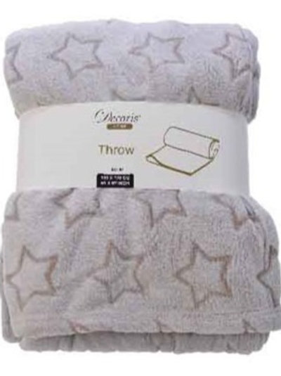 Fluffy Throw - Stars