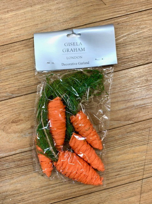 Gisela Graham Easter Carrot Garland
