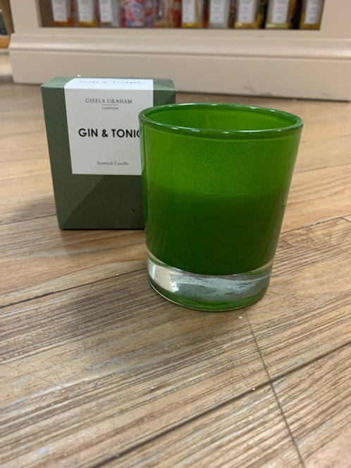 Gisela Graham Scented Candle in Gift Box - Gin and Tonic
