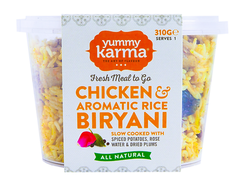 Chicken & Aromatic Rice Biryani 310g