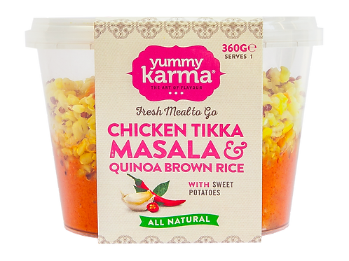 Chicken Tikka Masala with Brown Rice Quinoa 360g