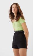 Bershka black shorts